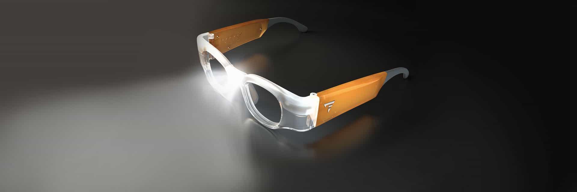 Lupenbrille mit Licht Leddless