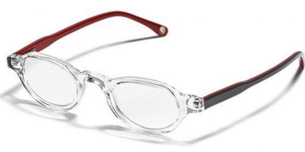 Detailaufnahme einer Lupenbrille