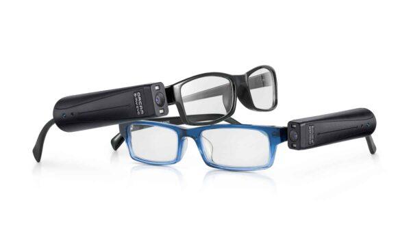 2 Brillen mit befestigter OrCam